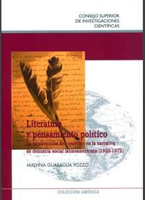 Literatura Y Pensamiento Político / Malvina  Guaraglia Pozzo, 2012 http://bu.univ-angers.fr/rechercher/description?notice=000589959