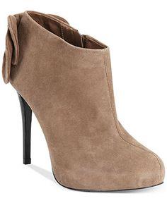 Carlos By Carlos Santana Crown Dress Booties - Carlos Santana - Shoes - Macy's  Color: Taupe Price: $89