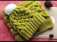 Must Learn Crochet Stitch Tutorial - Crochet Ideas Knitting Videos, Crochet Videos, Knitting Stitches, Knitting Projects, Baby Knitting, Crochet Projects, Bonnet Crochet, Crochet Beanie, Knitted Hats