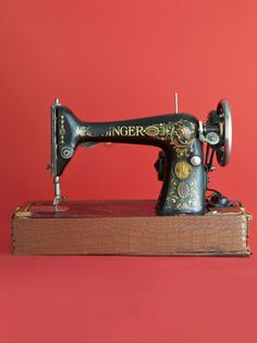 This Singer 66 model was one of 50,000 such machines produced from 1910 to 1920.  Can you guess what it's worth now?