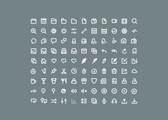 20 of the Best Free Minimalist Icon Sets