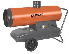 Eurom Fireball 20CAP Heteluchtkanon - Olie (+ rookafvoerkanaal)