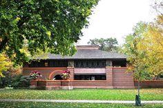 Arthur Heurtley House : Oak Park, IL    photo:  Elisa.rolle