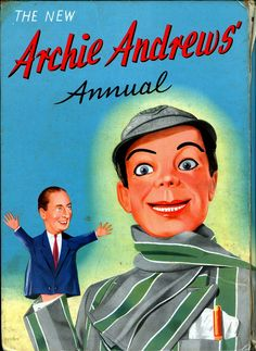 Puppeteer is now the puppet ARCHIE ANDREWS ANNUAL (please follow minkshmink on pinterest) #ventriloquist #dummy  #puppet