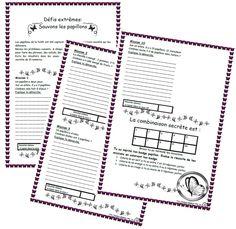 Résolution de problèmes Sauvons les papillons Math Quotes, Math Art, Math Resources, Third Grade, Science Nature, Bullet Journal, Classroom, Teaching, Writing
