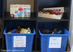 Open Toy Storage: Inviting Our Children to Play  *shelves with easy access