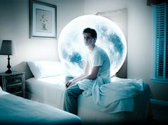 The Moonborn by Stephen Criscolo, via Flickr