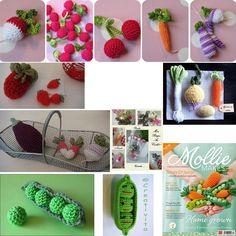 Fruits et légumes en crochet                                                                                                                                                                                 Plus