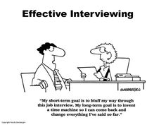 Effective Job Interviewing