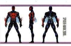 Spider-Man 2099 Costume!