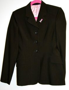 Hayward Sportswear, Equestrian Showjumping jacket for the cure - beautiful fabric with stretch, machine washable and a portion of the proceeds go to Cancer research. Show Jackets, Good Cause, Equestrian, The Cure, Sportswear, Blazer, Pony, Cancer, Horse