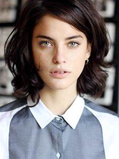 chemisier col ∇ blouse white collar planète interdite
