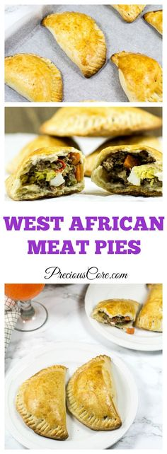 African style meat pies. Perfect appetizer for holiday season!