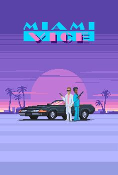 """"""" Miami Vice (1984) - Created byMazeon """"                                                                                                                                                      More"""