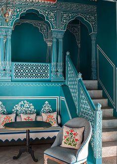 India's design hotels worthy of interior awards - Bar Palladio, Jaipur                                                                                                                                                                                 More