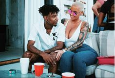 Things are heating up between Amber Rose and 21 Savage. Are they officially couple? Decide for yourself inside…  Looks there's a new Hip Hop love connection. There have been rumors that Amber Rose and 21 Savage are dating. And based on their latest coupledom spottings, it appears to be true. A...