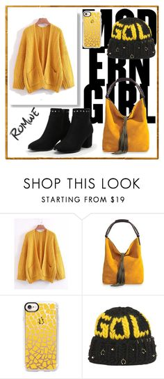 """""""Romwe"""" by malazvjezdica ❤ liked on Polyvore featuring Casetify and Maria Francesca Pepe"""