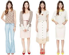madewell spring/summer 2012 collection (2nd and 3rd are my favorites)