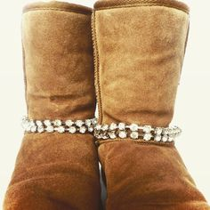Winter sparkle for your Uggs from www.bootbooti.etsy.com - boot bling, boot jewellery, ugg boots