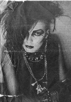 goth Atle from the band Garden of Delight , [Photo: Marianne Brantster] 80s Goth, Punk Goth, Vintage Goth, Gothic Musik, Deathrock Fashion, Estilo Punk Rock, Moda Punk, Goth Subculture, Romantic Goth