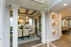 Love at first sight - Entryway - The Hemingway by Dostie Homes