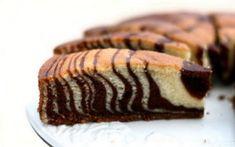 """Рецепт простого и быстрого пирога """"Зебра"""""""