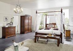 Möbel im Kolonialstil - die Welt zu Gast im eigenen Zuhause.