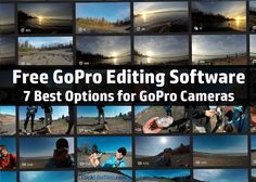 Are you looking for the best free GoPro editing software? In this post, I'll share the best options for free GoPro editing software. Photography Software, Gopro Photography, Free Photography, Photography And Videography, Photoshop Photography, Underwater Photography, Outdoor Photography, Travel Photography, Photography Hacks