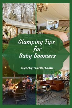 Glamping tips for baby boomers. We share glamping ideas from luxury tents to trailers. It's way better than camping! Bell Tent Camping, Camping Glamping, Camping 101, Canada Pictures, Best Cruise Ships, Shower Tent, Kids Checklist, Park Lodge, Luxury Tents