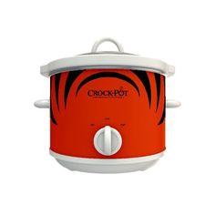 NFL Team Crock-pot Slow Cooker (Cincinnati Bengals) - http://www.cincyshop.net/cincinnati-sports/nfl-team-crock-pot-slow-cooker-cincinnati-bengals/