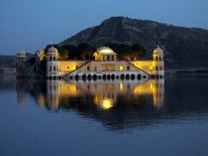 Jal Mahal (Water Mahal)  - Jaipur, India