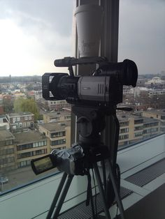 13th of April, 2012. Being allowed to film a timelapse from the high office building of the Administrative High Court was a nice opportunity. The project was for the ZSM project that is run by Dutch Public Prosecutions Office and the Police. We are filming the Lombok quarter in Utrecht.