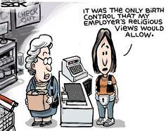 Sack cartoon: After Hobby Lobby   Star Tribune