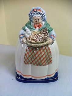 "Vintage Fitz and Floyd Grandma ""Granny"" Cookie Jar"