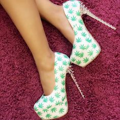 Kush Kouture Spiked Pump Heels