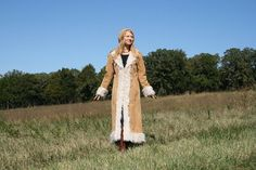 Vintage 90s Almost Famous Maxi Coat S 4 6 by RubyChicBoutique, $97.00