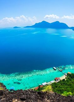 Sabah in Borneo....will go here in the not too distant future!!!! forest, diving, animals, birds, clear oceans, sunsets.....divine