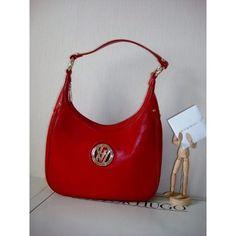 Bolsa Victor Hugo Original Couro Vermelho Impecável Blason VH - Susu3000 Roupas & Acessórios