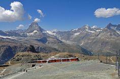 View from Gornergrat to Matterhorn, Switzerland