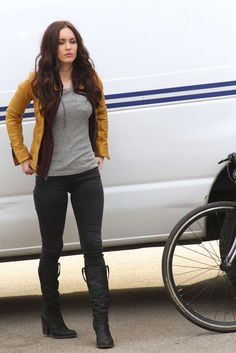Megan Fox - I love her body shape.