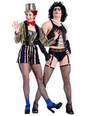 mine and Asa's costumes this year! so excited!....Rocky Horror Picture Show