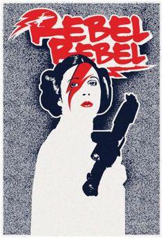 Rebel Rebel Star Princess Posters - by AllPosters.ie