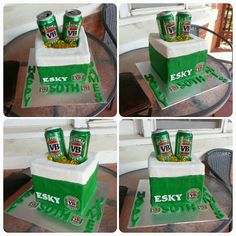 40th Birthday, Birthday Cakes, 30th Party, Cakes For Boys, Cake Creations, Themed Cakes, Amazing Cakes, Beer Cakes, Delicate