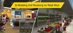 3d Modeling And Rendering for Retail Store..http://goo.gl/XmxjiF