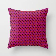 Fashion Diary Throw Pillow - Georgiana Paraschiv