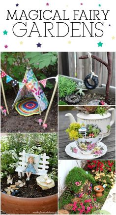 14 Magical Fairy Gardens You Can Make