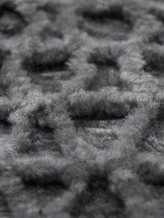Yerra Basalt Savanna rugs combine plain shearling with bi-colour material Alpaca Rug, Tile Patterns, Dark Grey, Colour, Texture, Rugs, Art, Color, Farmhouse Rugs
