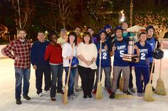 We didn't win the championship trophy, but we did have a blast trying! Great job to the winners and thanks Downtown on Ice at Pershing Square for hosting the game! We'll be back next year to take the trophy home! #DTLA #DTNews #LA #LosAngeles #broomhockey #hockey #fun