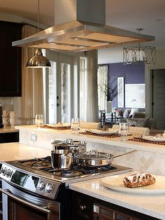 Island Countertop With Stove : ... Stove In Island on Pinterest Custom Kitchen Islands, Island Stove