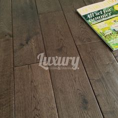 125mm Aged Chocolate Hand Scraped Solid European Oak Wood Flooring, 18mm Thick